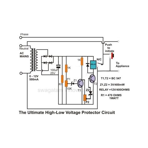 How Build Simple Mains Voltage Protection Circuits Low