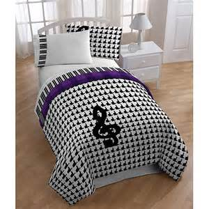 glee mercedes bedding comforter set twin full walmart com