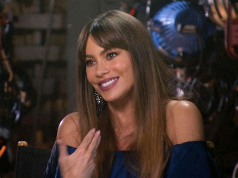 sofia vergara english accent sofia vergara the accent is on business cbs news