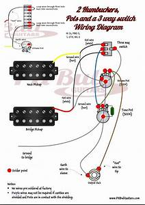 Wiring Diagram 2 Humbucker 2 Volume 1 Tone  U2013 The Wiring