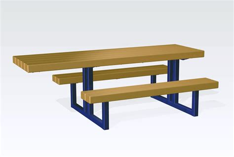steel picnic table frame metal picnic table frame