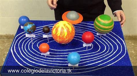 trabajo el sistema solar