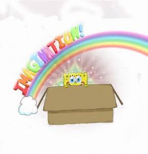 Spongebob Imagination by EvuhlKitteh on DeviantArt
