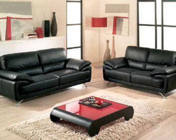 salon moderne encuir salon cuir de style contemporain rangoon