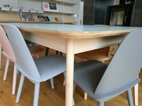 We are debating what thickness the table tops should forum responses (furniture making forum) from contributor k: Birch Plywood table top with a laminated finish. Ash frame ...
