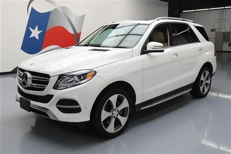 More stars mean safer cars. 2016 Mercedes-Benz GLE GLE 350 GLE 350 4dr SUV for Sale in ...