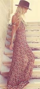 Robe Longue Style Boheme : maxi robe boheme petit budget au luxe basics co ~ Dallasstarsshop.com Idées de Décoration
