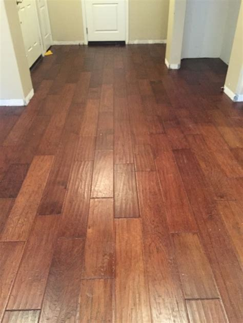 Bad Color Variation in Installation of New Hardwood Floors