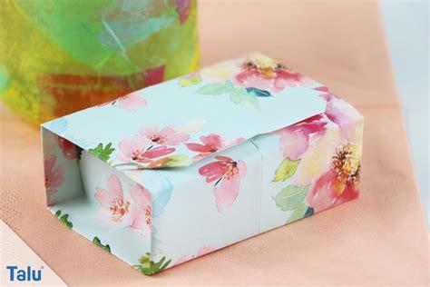 Origamischachteln Aus Papier Falten  Die Perfekte