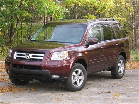 2008 Honda Pilot Reviews And Rating