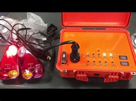 car trailer light tester 12 volt with auto light test function
