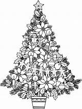Coloring December Ornaments sketch template