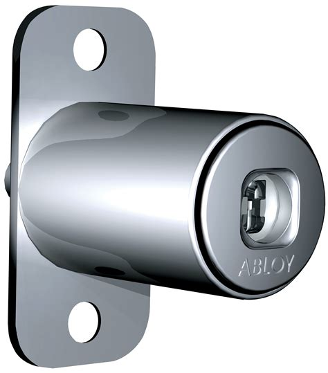 Push Button Cabinet Lock For Wooden Doors Of433 Abloy Oy
