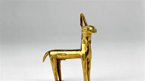 golf statues home a history of the in 100 objects inca gold llama