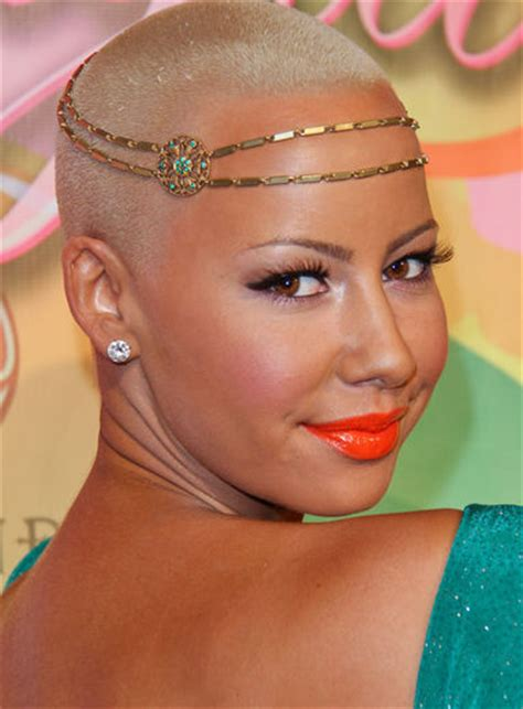 funpada2012 amber rose short hairstyles