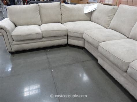 costco leather sofa in store marks and cohen laurel fabric sectional
