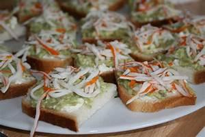 Idée Toast Apéro : toasts ap ro brousse avocat et surimi culinary show d ~ Melissatoandfro.com Idées de Décoration