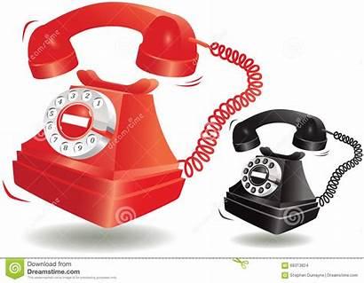 Telephone Fashioned Ringing Vector