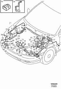 Volvo S60 Receptacle Housing  Cable  Harness  Fuel