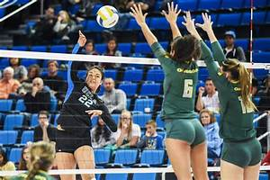 Women's volleyball falls in five sets to unranked Oregon ...