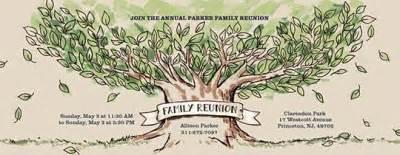 family gathering invitations evite