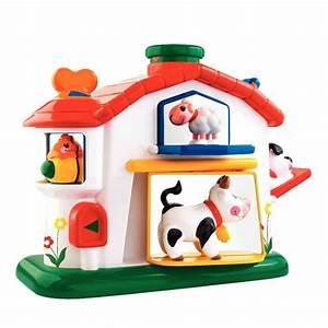 Maison D éveil : maison cache cache animaux tolo jouets d 39 activit sur planet eveil ~ Teatrodelosmanantiales.com Idées de Décoration