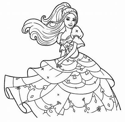 Coloring Princesses Pages