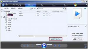 Using windows media player playlist files in web playlists for Documents 5 media player