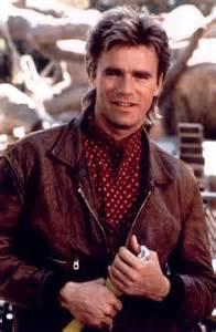 Richard Dean Anderson as MacGyver
