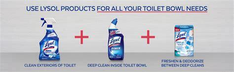 Amazon.com: Lysol Click Gel Automatic Toilet Bowl Cleaner