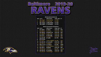 baltimore ravens wallpaper schedule