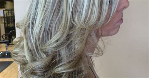 Icy Blonde Highlight With A Warm Lowlight