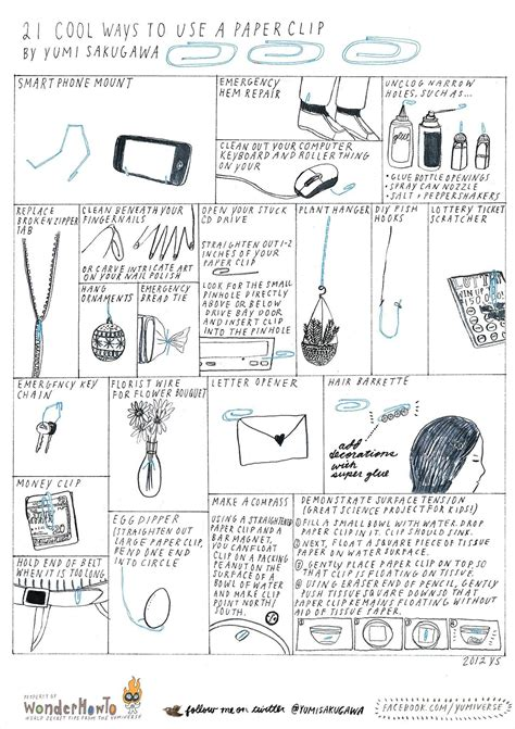 unique ways to use 21 cool ways to use a paper clip 171 the secret yumiverse 4