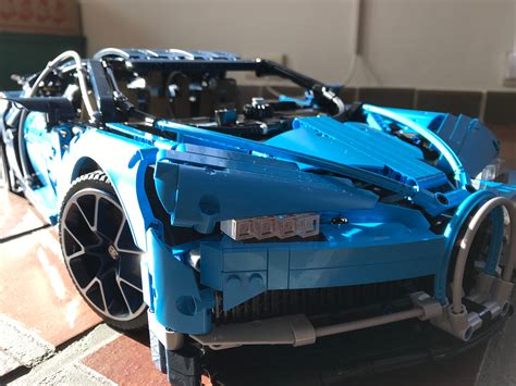 This is build instructions of a lego 2018 bugatti chiron moc, that is 6 pieces wide. LEGO MOC-16181 42083 Pimp up my Bugatti (Technic 2018)   Rebrickable - Build with LEGO