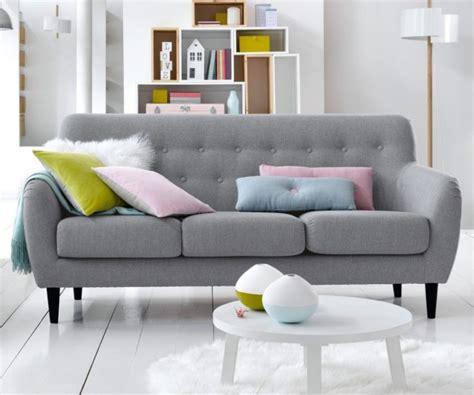 canapé scandinave pas cher créer un salon style scandinave à prix doux joli place