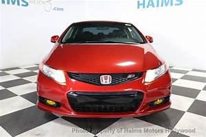 2012 Used Honda Civic Coupe 2dr Manual Si W  Navi At Haims