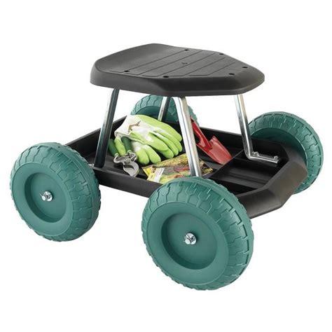 siege de jardin tabouret de jardin sur roues achat vente fauteuil