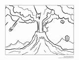 Coloring Island Volcanic 1159px 56kb 1500 sketch template