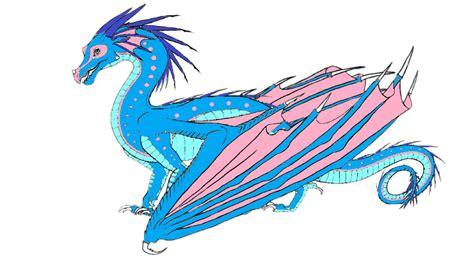 adopt icewing hybrid wings of bought by pomegranate rainwing on deviantart