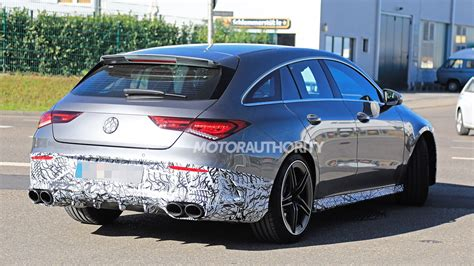 mercedes amg cla shooting brake spy shots