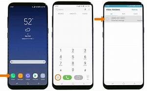 How To Set Up Voicemail On Galaxy S8    S8