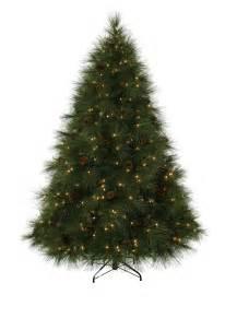 7 ft ponderosa needle pine clear prelit christmas tree christmas tree market