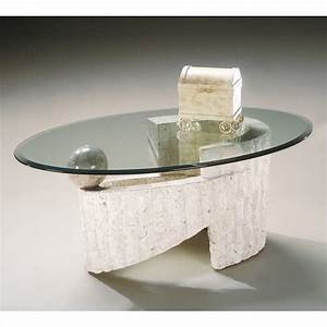magnussen ponte vedra oval glass top cocktail table in With ponte vedra coffee table
