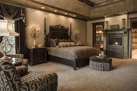 Chocolate Lover's Dreama Delicious Master Bedroom By