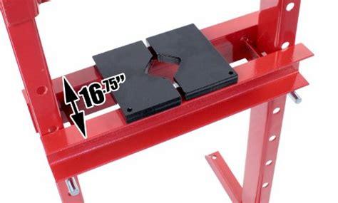 12 Ton Shop Press Floor H-frame Press Plates Hydraulic