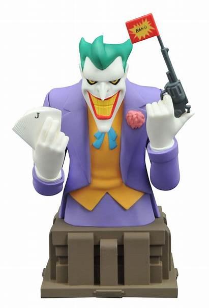 Joker Animated Diamond Bust Batman Series Select