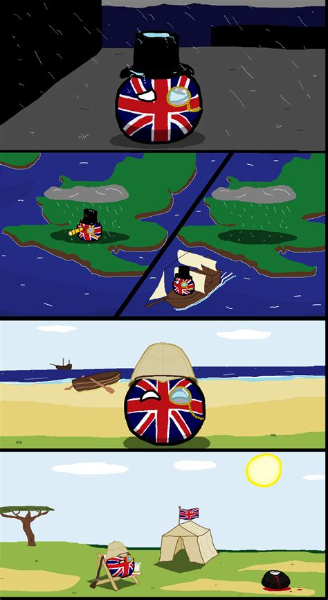 polandball polandball comics  britain built  empire