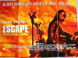Escape from LA, Original Vintage Film Poster | Original ...