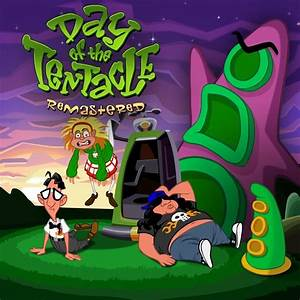 New Games DAY OF THE TENTACLE REMASTERED PS4 PC PS