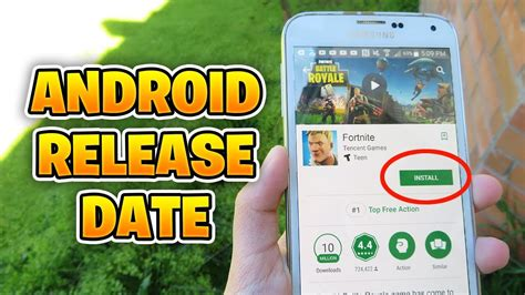 fortnite mobile official android release date fortnite